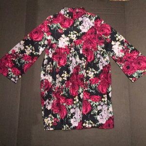Janie and Jack floral dress!! Size 8